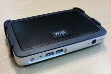 a picture of a Wyse thin client device